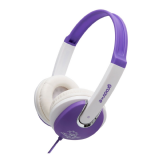 Groov-e Kids DJ Style Headphone - Violet / White GV590VW